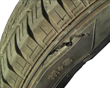 impact (tread/sidewall)